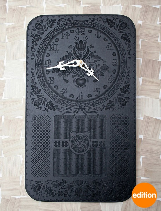اثاث 2012 عجيب Elegant-wall-clock-for-contemporary-room-design-Neverend-by-Furni-2-554x728