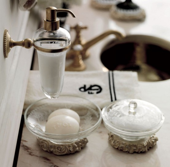 Fascinating And Luxury Bathroom Accessories By Savio Firmino