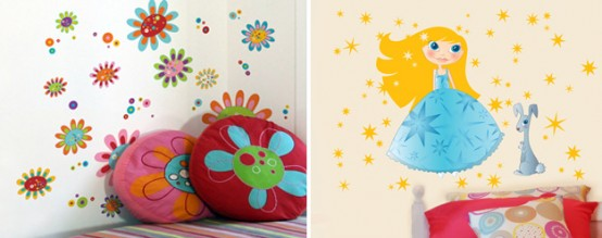 Funny Kids Wall Stickers By Acte Deco