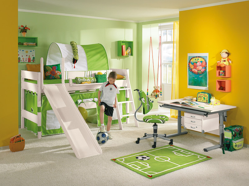 Funny play beds for cool kids room design by paidi digsdigs for Designer childrens bedroom ideas