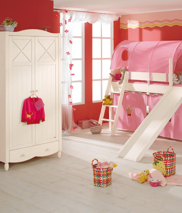 Fun Girl Room: Funny Play Beds For Cool Kids Room Design By Paidi