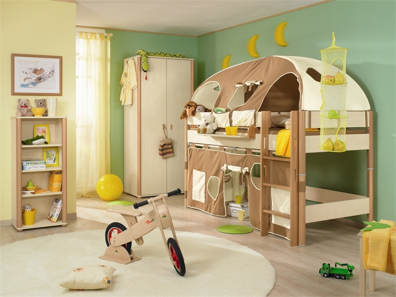 Funny play beds for cool kids room design by paidi digsdigs for Cool furniture for kids