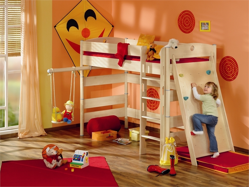 Furniture For Childrens Rooms Funny Play Beds For Cool Kids Room Design By Paidi DigsDigs