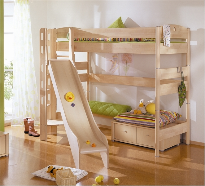 Funny play beds for cool kids room design by paidi digsdigs for Children bedroom design