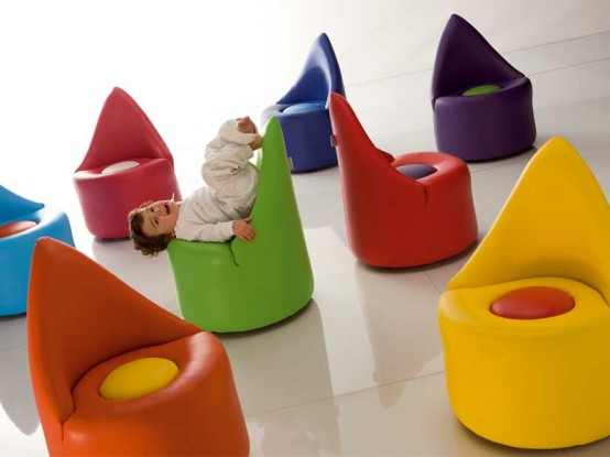 Funny And Bright Furniture Set For Cool Kids Room Baby Collection By Adrenalina