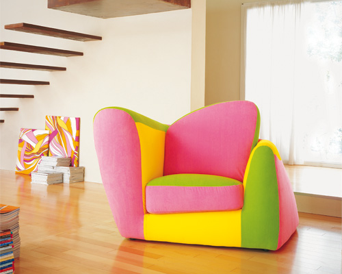 funny and bright furniture set for cool kids room baby