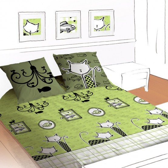 Funny Kids Bedding By Selene&Gaia