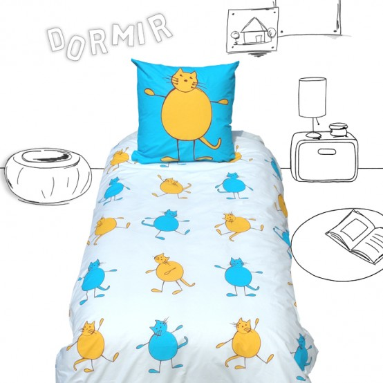 Perfect Funny Kids Bedding By Selene uGaia