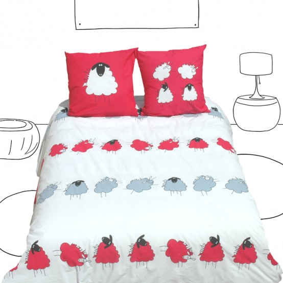 Funny Kid's Bedding By Selene&Gaia