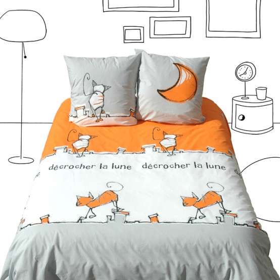 Funny Kids Bedding By Selene Amp Gaia Digsdigs