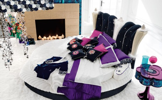 Glamour Bedroom Designs