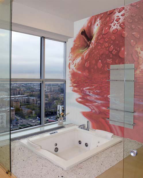 Mosaic Bathroom Tiles With Cool Images By Glassdecor DigsDigs