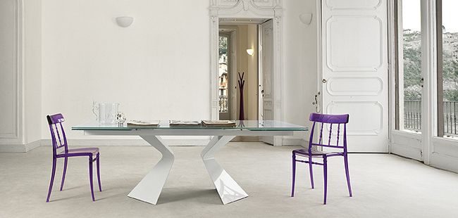 55 glass top dining tables with original bases