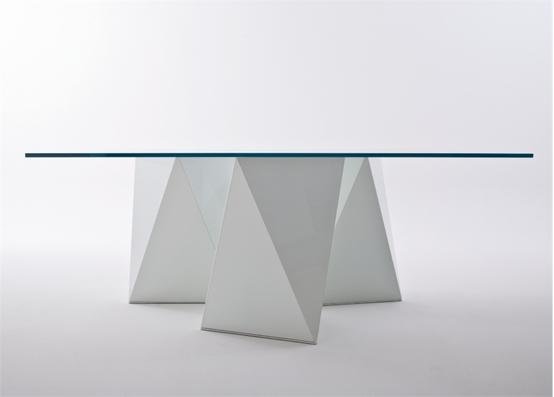 Glass Top Dining Table With Original Base