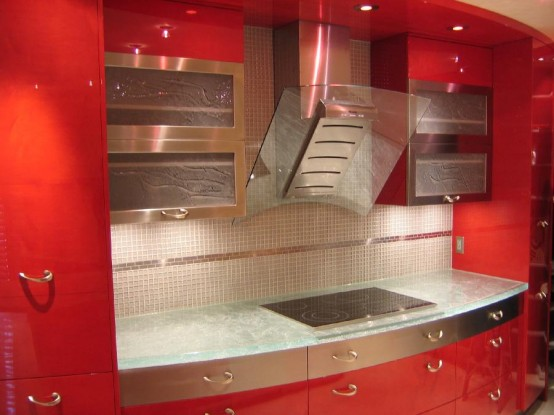 Glass Tops For Cool And Unusual Kitchen Designs From ThinkGlass
