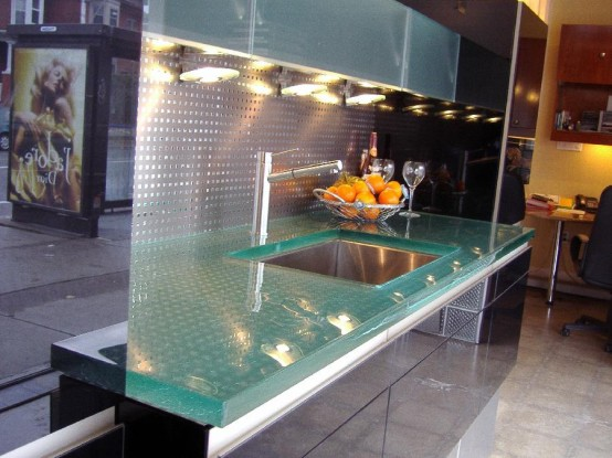 Good Glass Tops For Cool And Unusual Kitchen Designs From ThinkGlass