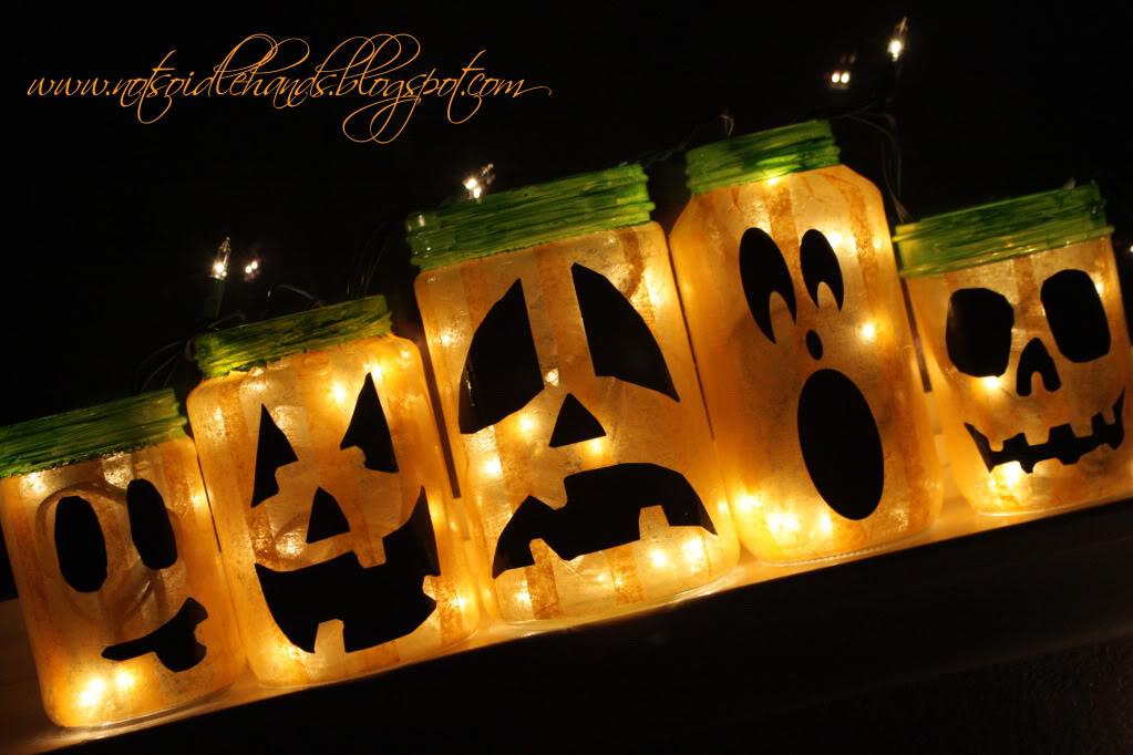 5 Cool Glowing Jack O Lantern Jars Digsdigs