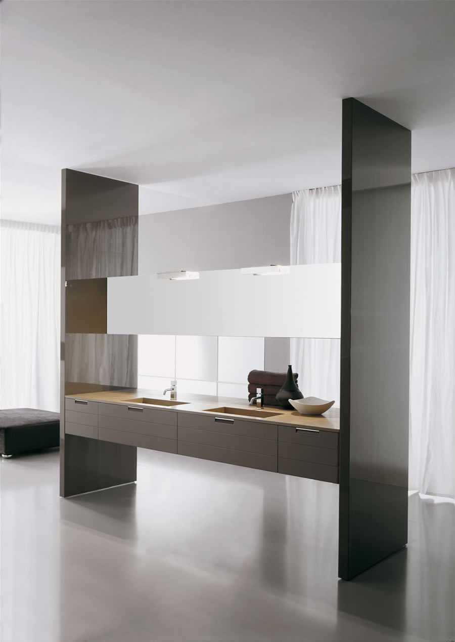 Modern master bathroom interior design - Modern Bathroom Designs From Schmidt