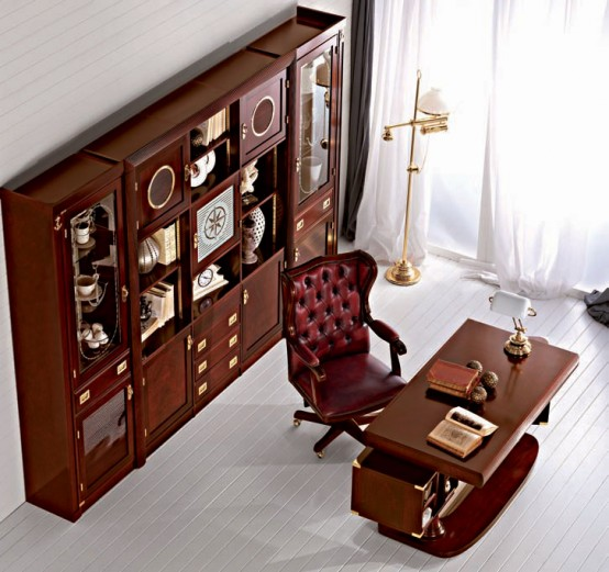 Office Furniture For Small Bedrooms: Great Sea-Themed Furniture For Girls And Boys Bedrooms By