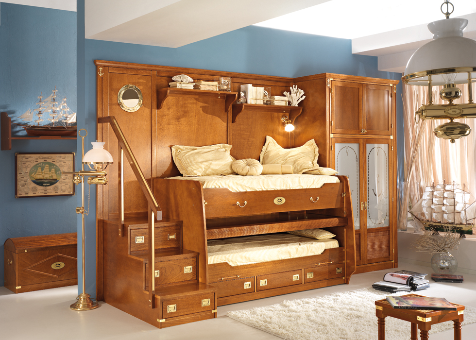 Great sea themed furniture for girls and boys bedrooms by for Best place for bedroom furniture