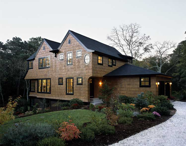 House With Compact Plan Efficient Use Of Volume And
