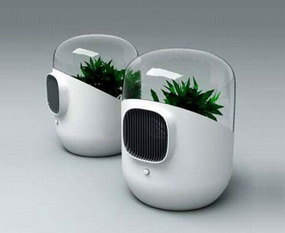 Innovative Living Air Filter Andrea By Mathieu Lehanneur And David Edwards