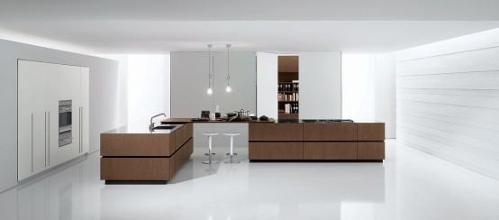 Italian Modern Kitchen Cube By Bravo