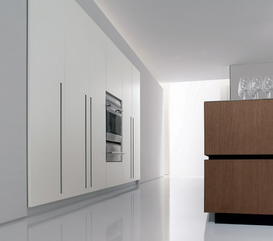 Italian Modern Kitchen Cube By Bravo