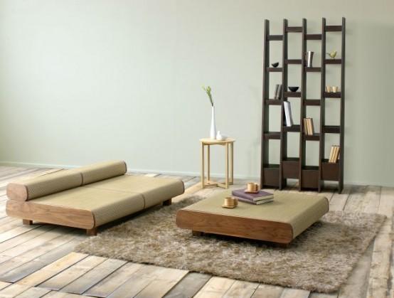 Anese Eco Friendly Sofa And Ottoman Agura By Sajica