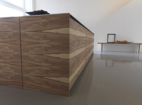 Large Kitchen Island With Wooden Finish Twenty By Modulnova