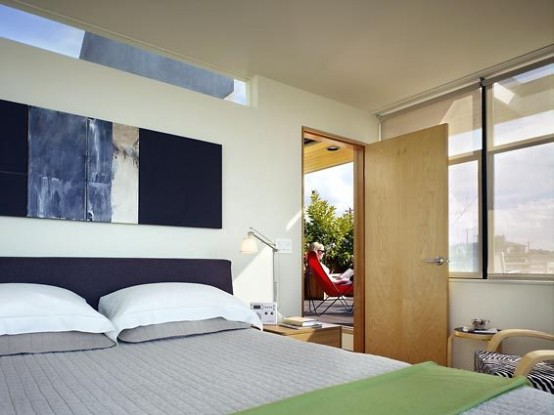 Live Work Residence Designed For An Interior Designer And A Modern Abstract Painter
