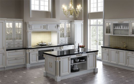 Ordinaire Luxury Classic Kitchen Designs By Giulia Novars