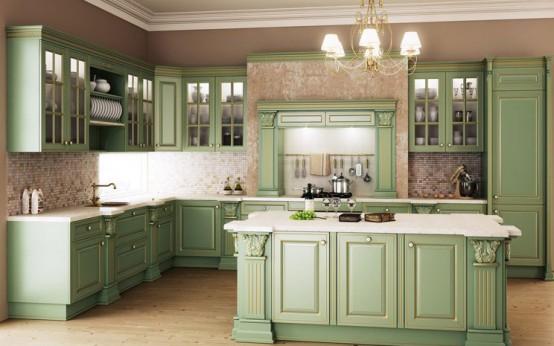Luxury Classic Kitchen Designs By Giulia Novars