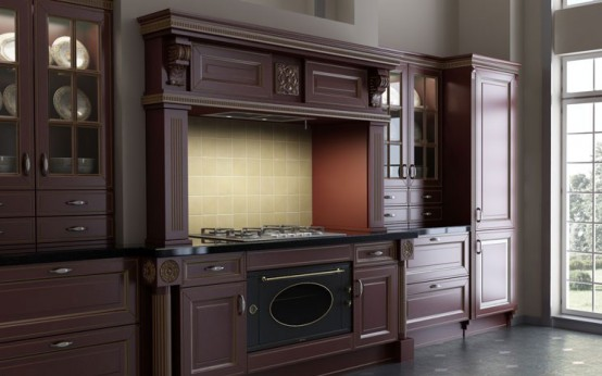 Luxury Classic Kitchen Designs By Giulia Novars