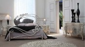Luxury Metal Bed With Charming Headboard Phoenix By Stylish