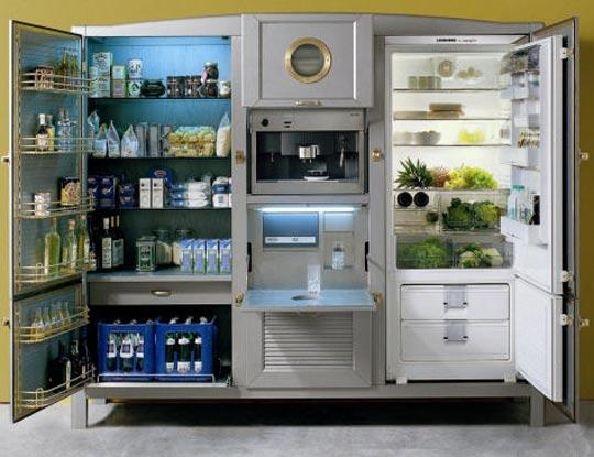 Luxury And Beautiful Refrigerators By Meneghini