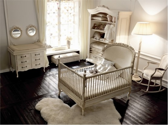 Luxury Baby Girl Nursery Notte Fatata By Savio Firmino