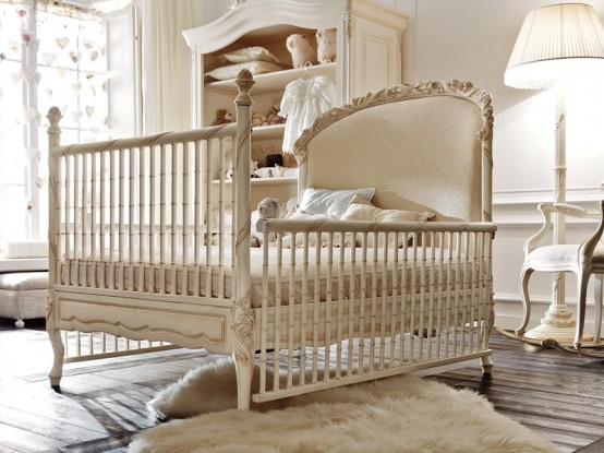 luxury baby girl nursery notte fatata by savio firmino upscale furniture u