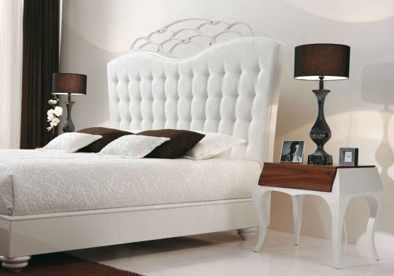 Best Luxury Bedroom With White Bed By MobilFresno