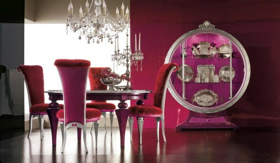 Luxury Dining Room Set – Tiffany by AltaModa | DigsDigs