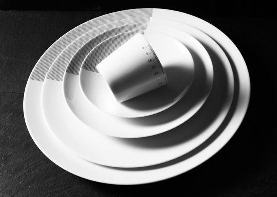 Luxury Porcelain Tableware with Modern Design by Non Sans Raison