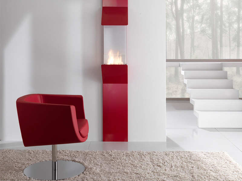 Minimalist Wall Mount Fireplace By Fontana Forni
