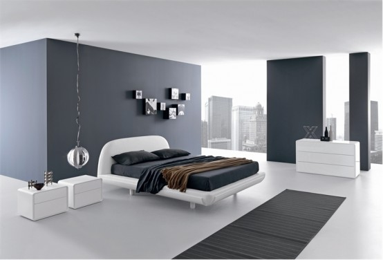 Simple Minimalist Bed For Modern Bedroom Fusion By Presotto