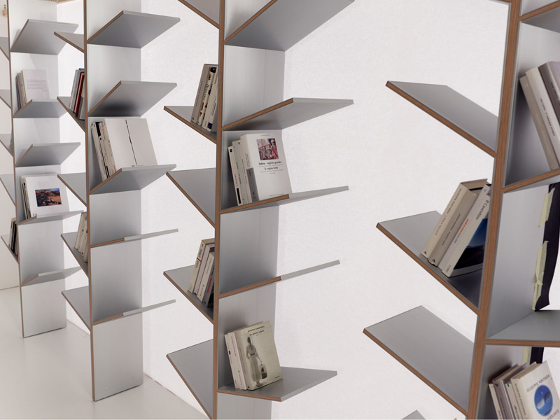 Modern bookshelves inspired by the nature fargus by al digsdigs - Modern bookshelf plans ...