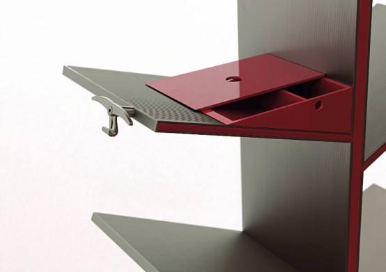 Modern Bookshelves Inspired By The Nature Fargus By AL 28.