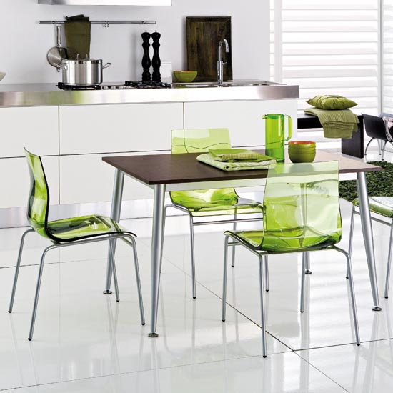Contemporary Kitchen Chairs: 15 Modern Bright Kitchen Chairs From Domitalia