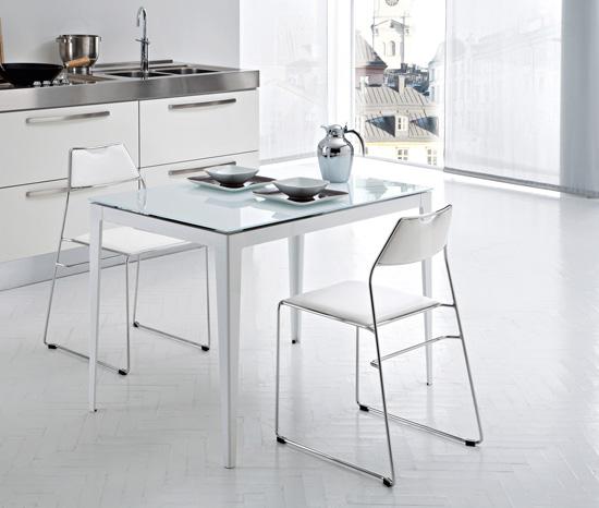 Modern Bright Kitchen Chairs From Domitalia