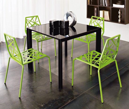 Modern Bright Kitchen Chairs from Domitalia