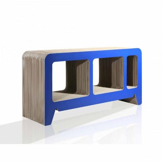 Modern Cardboard Furniture for your Eco-Friendly Room Design