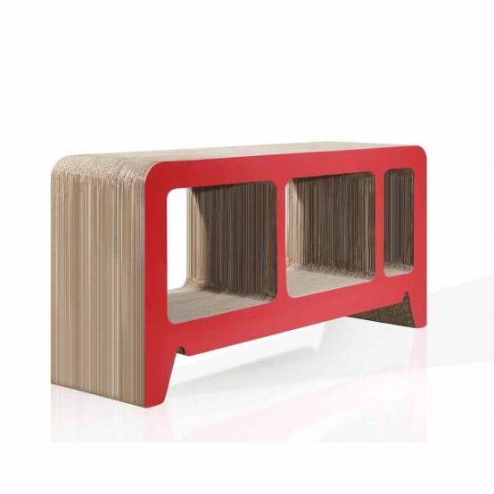 Modern Cardboard Furniture For You Eco Friendly Room Design